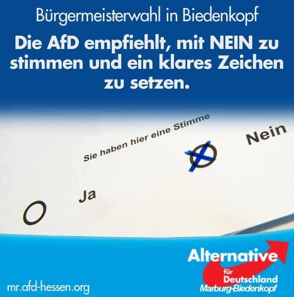 PM Bürgermeisterwahl Biedenkopf